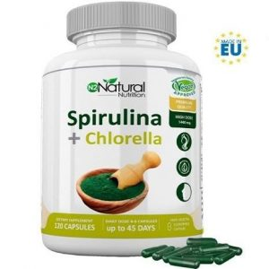 Espirulina en polvo Natural nutrition